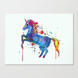 Unicorn Skeleton 2.0 Canvas Print