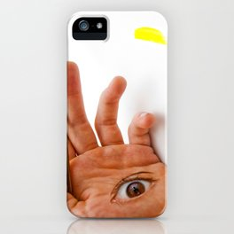 Through the Hand iPhone Case