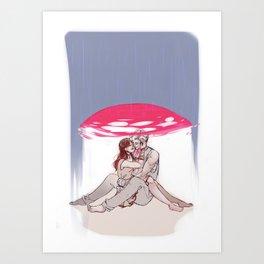 RainShelter Art Print