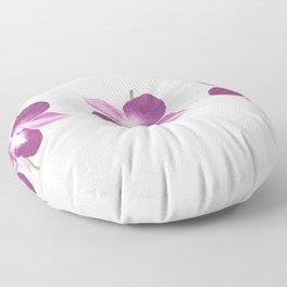 Orchids Bloom Floor Pillow
