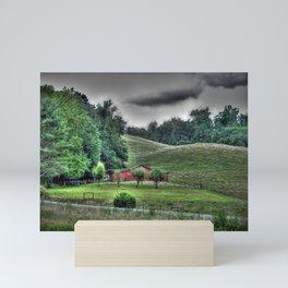 The Old Farm Mini Art Print