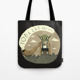 yodaling (grey colour option) Tote Bag