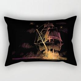 SpaceShip Rectangular Pillow
