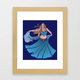 Belly Dancer Framed Art Print