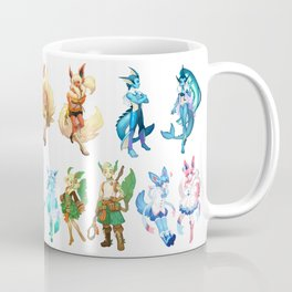 Eeveelutions Concept Art Coffee Mug