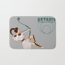 Artemis: Goddess of the Hunt Bath Mat