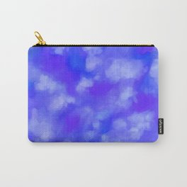 Abstract Clouds - Rich Royal Blue Carry-All Pouch