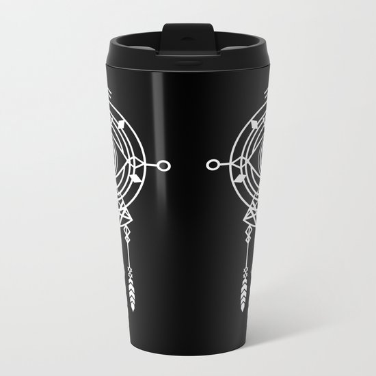Cosmic Dreamcatcher Metal Travel Mug