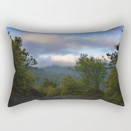 Adventure up to Alum Cave Rectangular Pillow