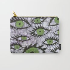 green eyes batik Carry-All Pouch