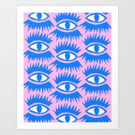 Bold Eyes II Art Print