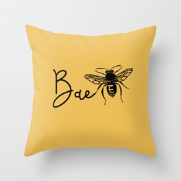 BAE Bee Baby Pun Love Throw Pillow
