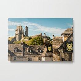 Corfe Castle (2) Metal Print