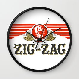 ZIG-ZAG rolling papers Wall Clock