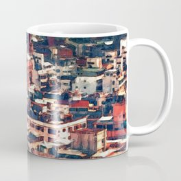 Continuous City Structures Coffee Mug