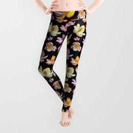 Cute Bright Floral Print Leggings