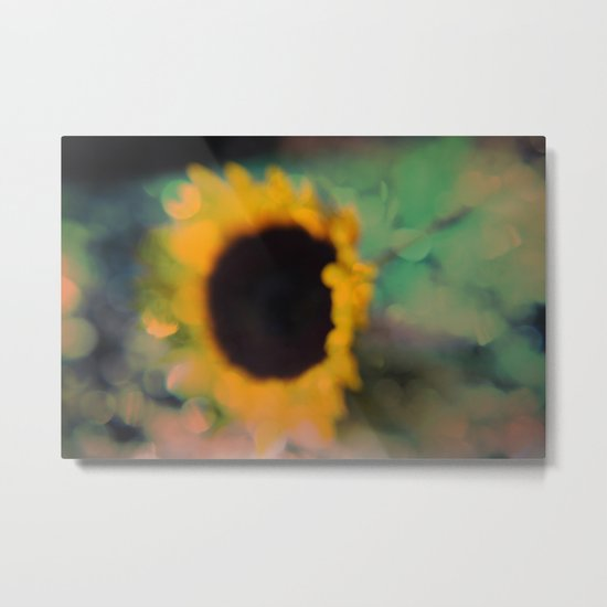 Sunflower III (mini series) Metal Print