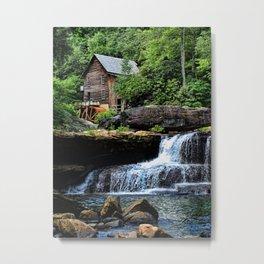Babcock Grist Mill Metal Print