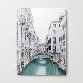 The Floating City - Venice Italy Architecture Photography Metal Print