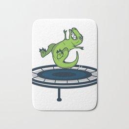 Dinosaur T-Rex Trampoline Funny Kids Gift Bath Mat
