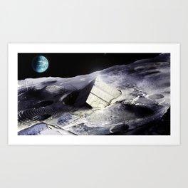 Moon Vessel. Art Print