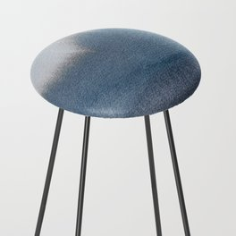 In Blue Counter Stool