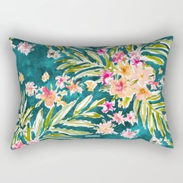 NUEVO VALLARTA Tropical Floral Rectangular Pillow