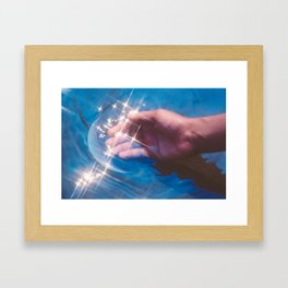 Capture Framed Art Print