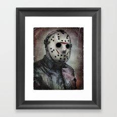 Jason Portrait Framed Art Print