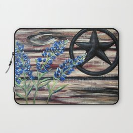 Blue Bonnets Laptop Sleeve