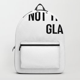 not the worst glazier Backpack