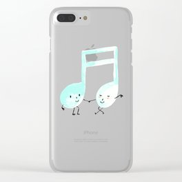 Our Song Clear iPhone Case