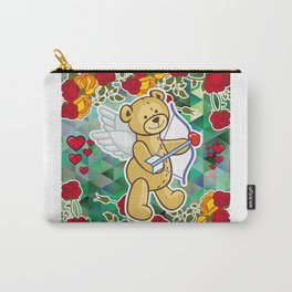 Cupid Bear Carry-All Pouch