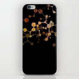 Metallic Molecule iPhone Skin