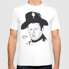 Napoleon Bonaparte White MEDIUM Mens Fitted Tee