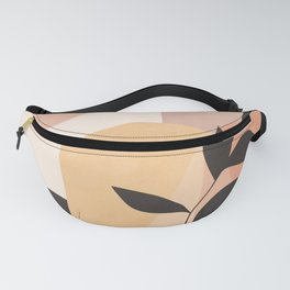 Abstract Art Plant 3 Fanny Pack
