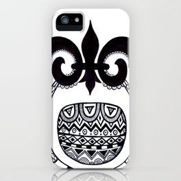 Owl3 iPhone Case
