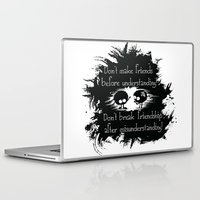 friendship Laptop & iPad Skins featuring Friendship by Cindys