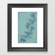 Freetype Framed Art Print