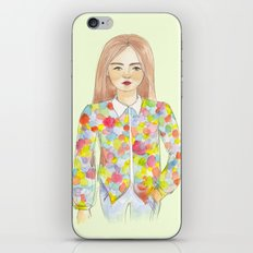 The colourful shirt iPhone & iPod Skin