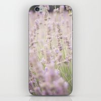 lavender iPhone & iPod Skins featuring lavender by Sarah Brust