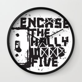 Hollywood Five Wall Clock