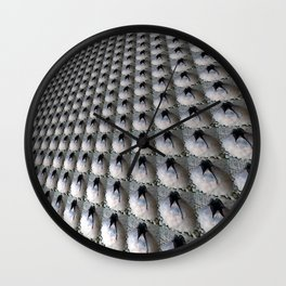Porous surface Wall Clock