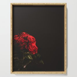 Fine Art Photography Print -  English Rose Serving Tray