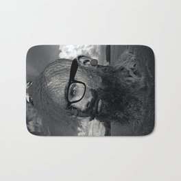 Eco Hipster Black and White Bath Mat
