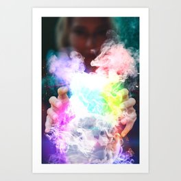 Pop clairvoyance by GEN Z Art Print