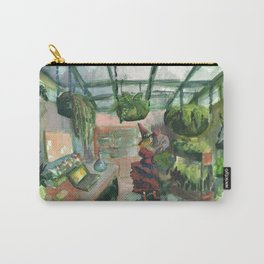 witch greenhouse bunny Carry-All Pouch