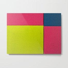 Color Square Metal Print