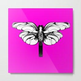 "Koloman (Kolo) Moser ""Butterfly design"" (1) Metal Print"