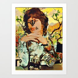 Sick Jag and Comely Modag Art Print